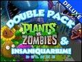 Double Pack Plants vs Zombies Insaniquarium