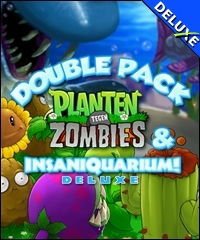 Double Pack Planten tegen Zombies Insaniquarium