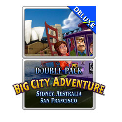 Double Pack Big City Adventure Sydney San Francisco