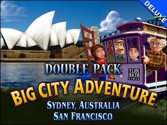 Double Pack Big City Adventure Sydney San Francisco Deluxe