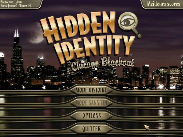Hidden Identity Chicago Blackout Deluxe
