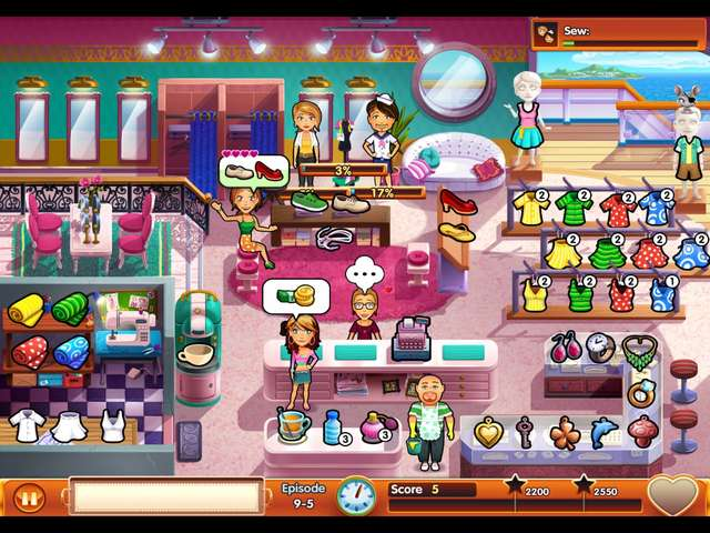 Screenshot 1 for Delicious - Emily's Honeymoon Cruise Deluxe